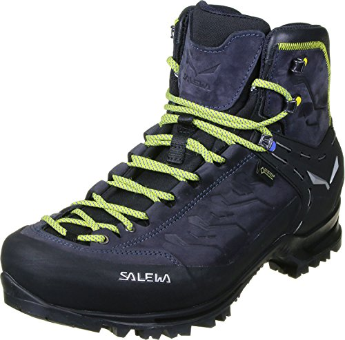 Salewa Herren MS Rapace Gore-TEX Trekking- & Wanderstiefel, Night Black/Kamille, 45 EU