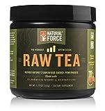 Natural Pre Workout Powder, Raw Tea Peach Flavor –...