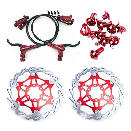 NYK Zoom Juego de frenos de disco hidráulicos para bicicleta de montaña...
