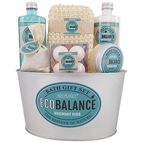 Gloss - caja de baño, caja de regalo para mujeres - Baño de metal regalo EcoBalance