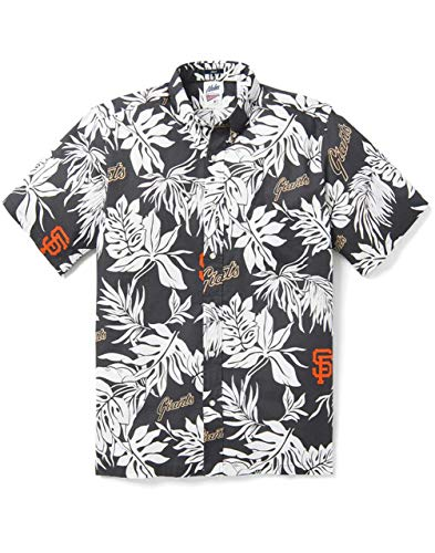 Reyn Spooner San Francisco Giants 2020 MLB Hawaiian Aloha Camp Shirt Aloha Print, Multi, XX-Large