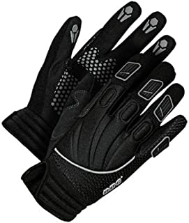 Bob Dale 20-1-104-XS Performance Glove with Synthetic Leather Palm, X-Small, Black