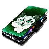Book Style Flip Handy Tasche Hülle Schutz Hülle Schale Motiv Foto Etui für Wiko Ridge Fab 4G - Flip BV13 Design12