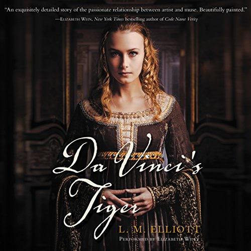 Da Vinci's Tiger audiobook cover art
