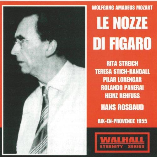 Mozart : Le nozze di Figaro (Aix en Provence 1955) [Les noces de Figaro]