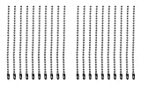 Shapenty 4 Inch Stainless Steel Ball Bead Chains Connector Clasp Extension Keychain Tag Ke...