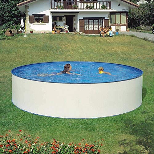 Planet Pool Rundbecken-Set Almeria 350x120cm (SW:0,4 IH:0,3) Overlap