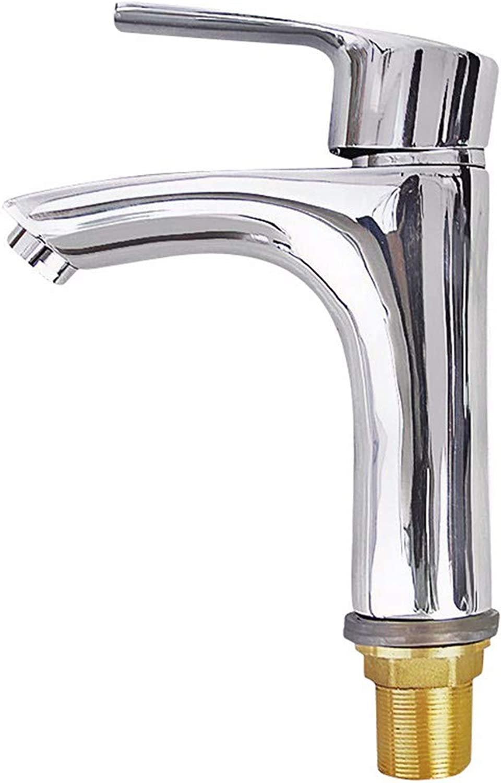 FT-13 Hot and Cold Faucet Retro Faucet Kitchen Bathroom Faucet Single Handle Single Hole Basin Mixer 311A