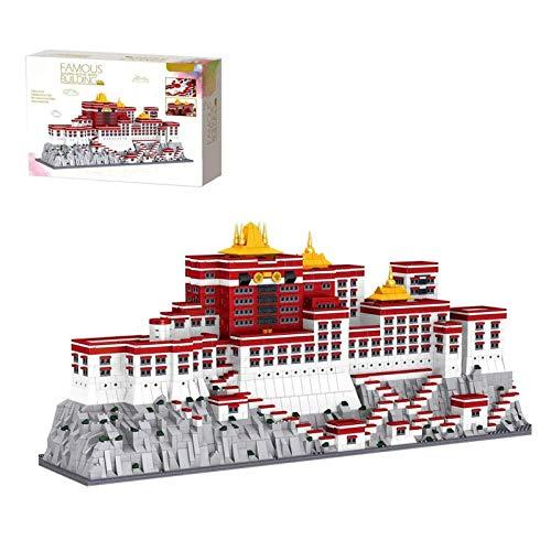 Haus Bausteine Bausatz, Orientalischer Palast Modular Architektur Modell, 3649 Klemmbausteine Kompatibel Mit Lego, Das Gebäudemodell Wird Nicht Von Lego Erstellt