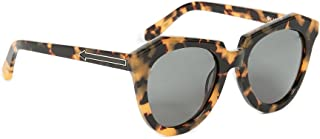 Karen Walker Number One Tortoise Sunglasses