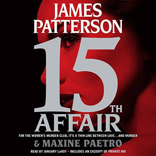 15th Affair audiobook cover art