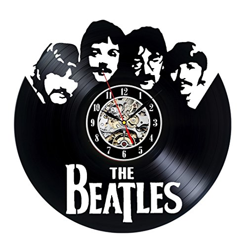 Regalo Vintage Collection Beatles Vinilo reloj de pared
