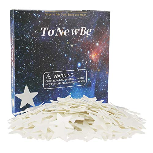 Glowing Stars for Ceiling, 3D Glow in The Dark Stars Stars,Wall Decoration for Kids Bedroom Rooms, Contain 150 Stars, and 200 Stickers