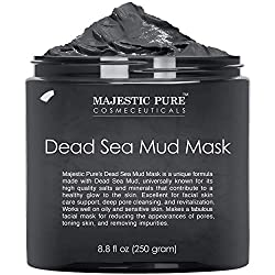 Mud face mask for blackheads and whiteheads