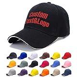 MEINAMI Un'unità Berretto da Baseball Personalizzato 100% Cotone Cappello Ricamato Personalizzato Cappello
