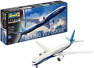 Revell- Boeing 777-300ER Maqueta Avión, 12+ Años, Multicolor, 51.0 cm de Largo (04945)