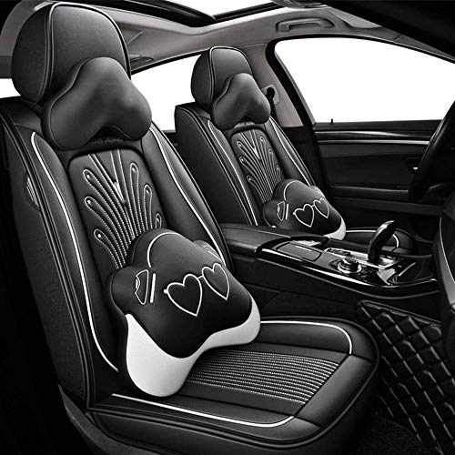 RVTYR Apply toFor car seat cover accessories For mitsubishi pajero 4 sport outlander 3 xl lancer 9 10 grandis ASX colt l200,TOP Edition4 car seat cushion