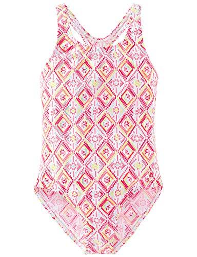 Schiesser Mädchen Aqua Badeanzug Einteiler, Mehrfarbig (Multicolor 904), 140