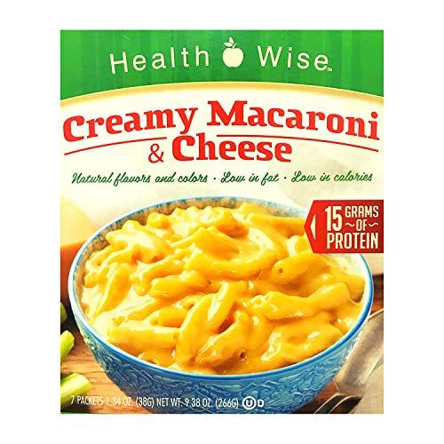Healthwise - High Protein Dinner - Creamy Macaroni & Cheese - 15g Protein -...