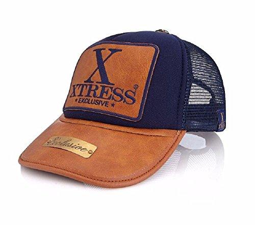 Gorra azul con logo XTRESS para hombre y mujer