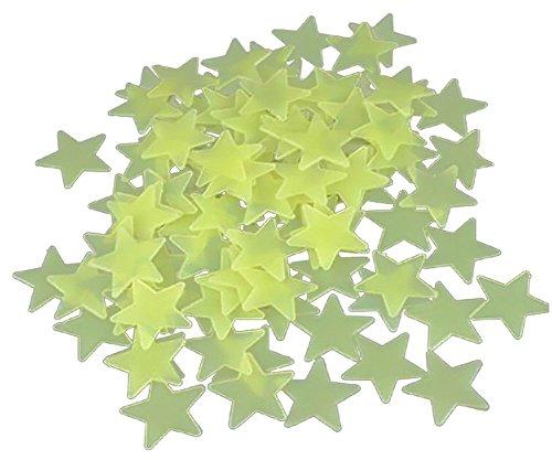 Dosige 1 stuks instap voor het plafond met 's nachts oplichtend sterren, stickers voor baby's, kinderen, slaapkamer, decoratie, wandsticker, 3 cm