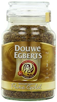 Douwe Egberts Pure Gold Instant Coffee, Medium Roast