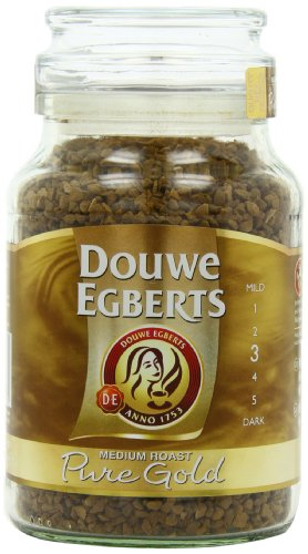 Douwe Egberts Pure Gold Instant Coffee Medium Roast 705Ounce 200g Packaging May Vary