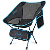 G4Free Upgraded Lightweight Portable Chair Outdoor Folding Camping Chairs with Side Pocket for...