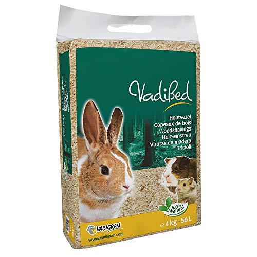 Vadigran Vadibed - Virutas de madera para animales pequeños (56l, 4kg)