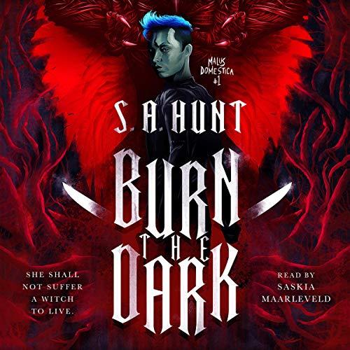 Page de couverture de Burn the Dark