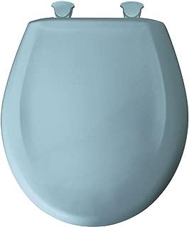 Bemis 200SLOWT 024 Slow Sta-Tite Round Closed Front Toilet Seat, Twilight Blue