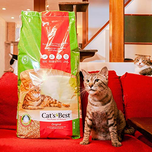 Cat's Best 28441 Öko Plus Katzenstreu, 40 Liter - 4