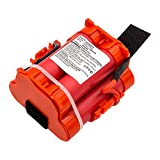 subtel® Premium Akku (18V, 2500mAh, Li-Ion) kompatibel mit Gardena R38Li, R40Li, R45Li, R50Li, R70Li, R75Li, R80Li - 505 69 73-20, 574 47 68-02, 574 47 68-03, 586 57 62-01 Ersatzakku...