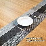 Xianheng1 テーブルランナー おしゃれ テーブルフラグ テーブルクロス ランナー モダン クロス レストラン用 食卓カバー テーブル フラグ コーヒーテーブルクロス 撥水加工 北欧風 防カビ 上品 断熱