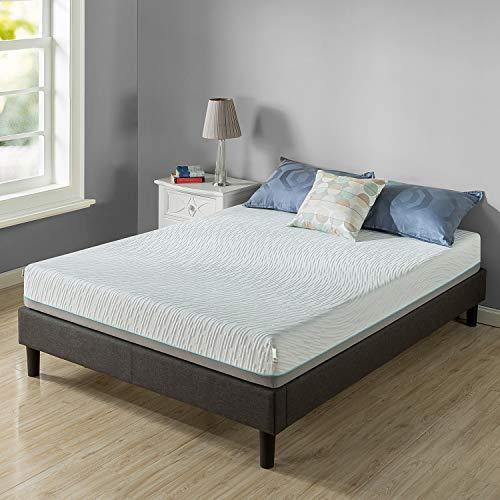 ZINUS 8 Inch Green Tea Pressure Relief Memory Foam Mattress/Zoned Airflow Design/CertiPUR-US Certified/Bed-in-a-Box, Queen
