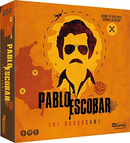 Pablo Escobar 1 Pablo Escobar - The Boardgame