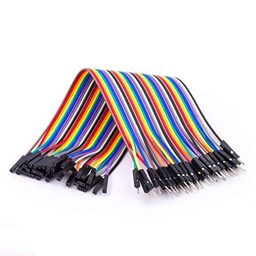 AZDelivery Jumper Wire Kabel 20 cm F2M Female to Male kompatibel mit Arduino und Raspberry Pi Breadboard