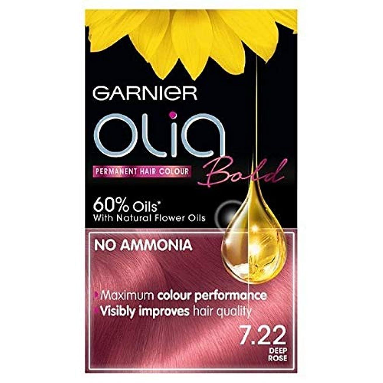 出します司教ルー[Garnier ] ガルニエOlia大胆永久染毛剤には、深い7.22をバラ - Garnier Olia Bold Permanent Hair Dye Deep Rose 7.22 [並行輸入品]