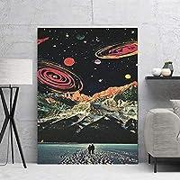 雪の惑星ポップアートポスター家の装飾 リビングルームの装飾のためのHd壁の写真メゾンポスターヴィンテージ 20x30inch