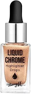 Barry M Liquid Chrome Highlighter Drops, Liquid Fortune