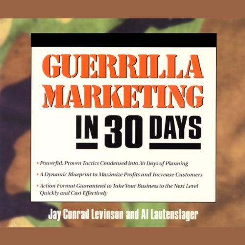 Guerrilla Marketing in 30 Days audiobook cover art