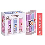 GOOD TO GO Soft Baked Bars 9 Ct. Variety Pack; Mix of Individually Wrapped Strawberry Macadamia Nut, Double Chocolate, & Blueberry Cashew; Gluten Free, Keto Friendly, Paleo Friendly, Low Carb Snacks