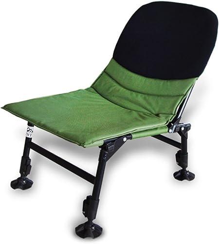 ZDYYCNC Chaise De Camping Pliante,Grand Chaise De Camping Chaise De Pêche Aluminium 330lbs évolutive Réglable