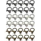 sharprepublic 30x Grand Sac Fermoir Mousqueton Mousqueton pour Chaînes De Bracelet Collier