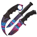 Black Legion Triple Knife Set (Black Galaxy)