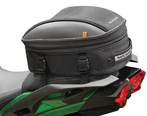 Nelson Rigg CL-1060-S2 Black Commuter Sport Motorcycle Tail/Seat Bag