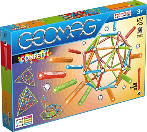 Geomag 00354 Confetti 127-teilig, 127 Stück