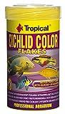 Tropical cich Lid Color Flakes–farbverstärkendes Copo de Forro con Beta glucan, 1er Pack (1x 1.2l)