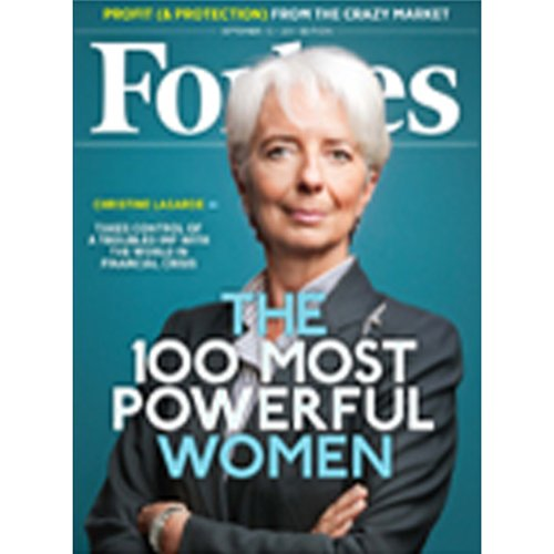 Forbes, August 29, 2011 audiobook cover art