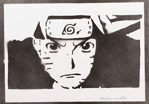 Naruto Poster Plakat Handmade Graffiti Street Art - Artwork